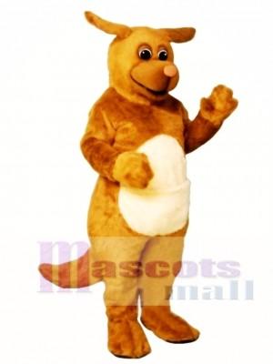 Niedlich Rudy Roo Känguru Maskottchen Kostüm