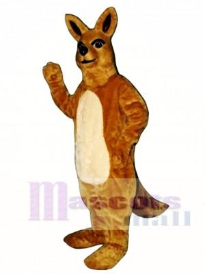Niedlich Mama Känguru Maskottchen Kostüm