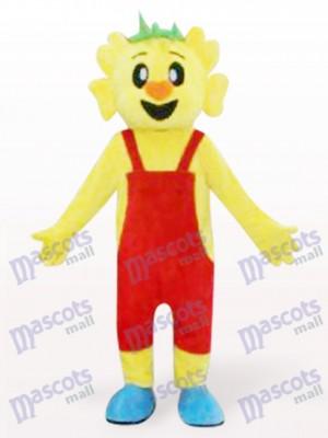 Orange Haar Koala Maskottchen Kostüm für Erwachsene