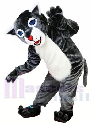 Neue heiße Verkaufs-Wildkatze Maskottchen Kostüm  Erwachsene Größe Halloween-Outfit Verrücktes Kleid