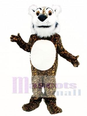 Comic Leopard Maskottchen Kostüm Tier