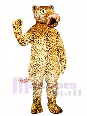 Leland Leopard Maskottchen Kostüm