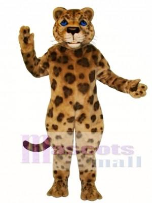 Jaguar Maskottchen Kostüm Tier