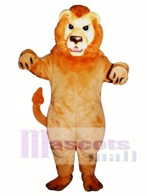 Niedlich Bedeuten Löwe Maskottchen Kostüm