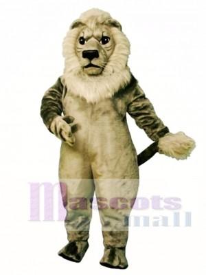 Alt Grau Löwe Maskottchen Kostüm