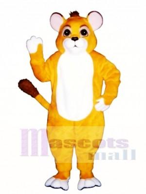 Löwe Cub  Maskottchen Kostüm