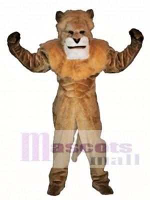 König Löwe Maskottchen Kostüm