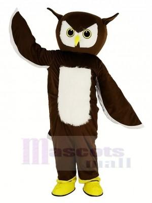 Braun Eule Maskottchen Kostüm Tier