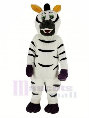 Komisch Zebra Maskottchen Kostüm Tier
