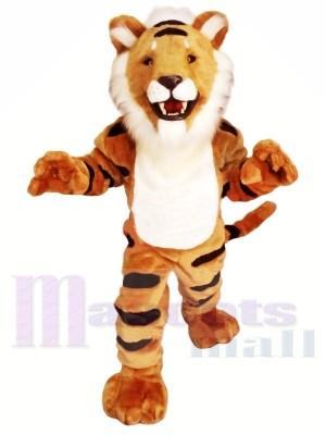 Gestreifter Tiger Maskottchen Kostüme