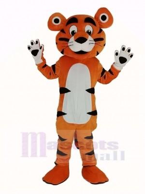 Tiger Maskottchen Kostüm Erwachsene