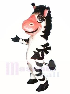 Nettes Zebra Maskottchen Kostüme