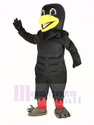 Leistung Schwarz Rabe Maskottchen Kostüm