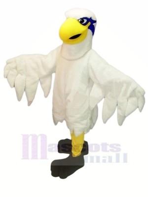 Weiß Leicht Falke Maskottchen Kostüme Karikatur
