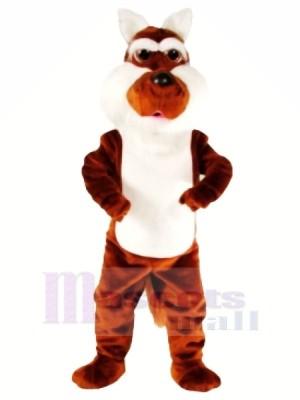 Lustig Braun Kojote Maskottchen Kostüme Karikatur