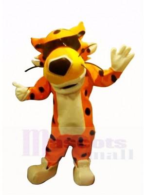 Cool Gepard Cheetos Maskottchen Kostüm Karikatur