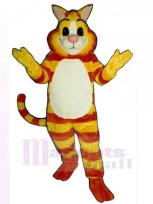Freundliche Grinsekatze Maskottchen Kostüm Tier