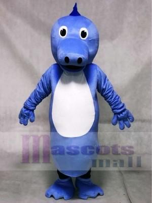 Niedliche blaue Henry Seahorse Maskottchen Kostüme