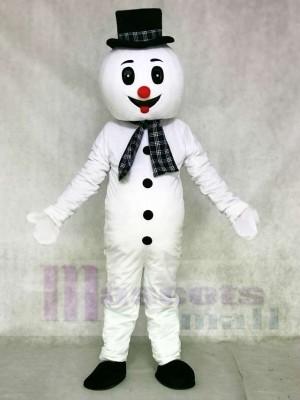 Schneemann Maskottchen Kostüme Weihnachten