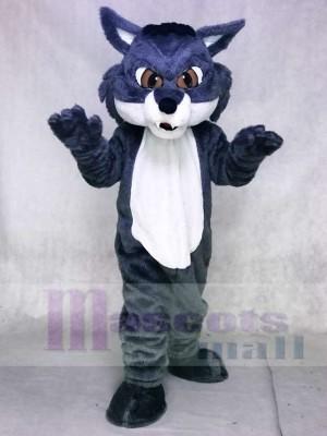 Heftiger grauer Schnee Fuchs Maskottchen Kostüme Tier
