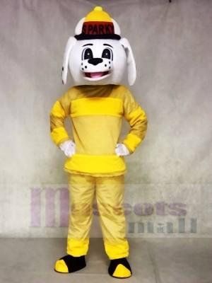 Brauch Farbe Sparky das Feuer Hund Maskottchen Kostüm Tier NFPA Feuerwehrmann