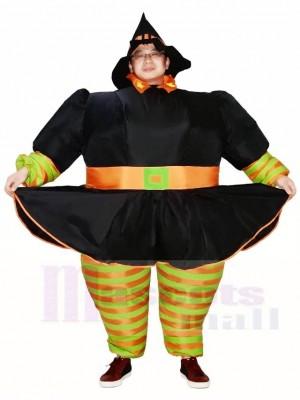 Fett Hexe Aufblasbare Halloween Weihnachten Kostüme für Erwachsene