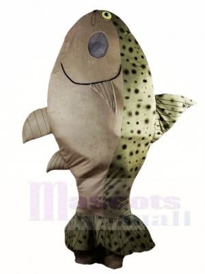 Lachs Fisch Maskottchen Kostüme Meer Ozean