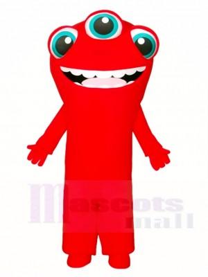 Drei Augen Monster Maskottchen Kostüme