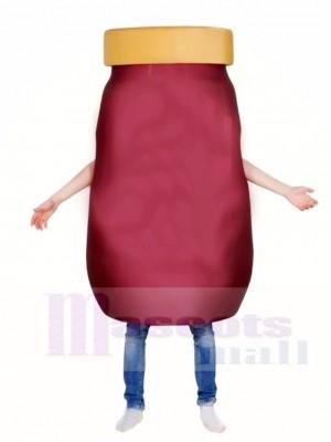 Jar Food Container Maskottchen Kostüme