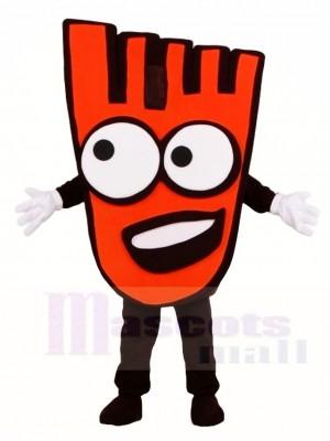 rot Gehen Hand Maskottchen Kostüme