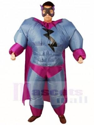 Fett Übermensch Grau Superheld Aufblasbar Halloween Weihnachten Kostüme für Erwachsene