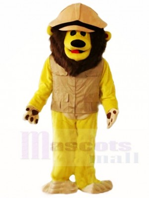 Braun Löwe Maskottchen Kostüme Tier