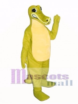 Hohn Krokodil Maskottchen Kostüm Erwachsene