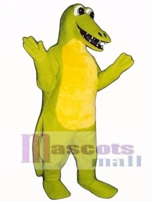 Gary Gator Maskottchen Kostüm Erwachsene