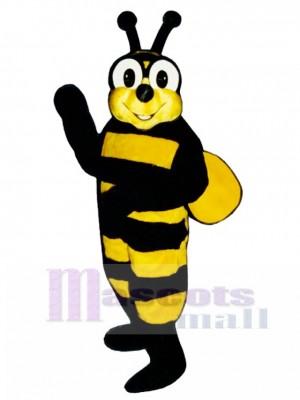 Gelbes Jacken Bienen Maskottchen Kostüm Insekt (Configura
