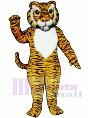 Netter Comic Tiger Maskottchen Kostüm