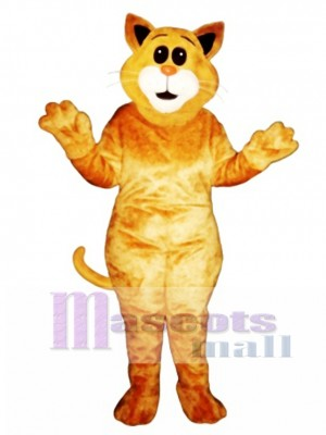 Süßes großes Ohr Katze Maskottchen Kostüm Tier