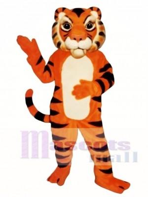 Nettes sibirisches Tiger-Maskottchen-Kostüm