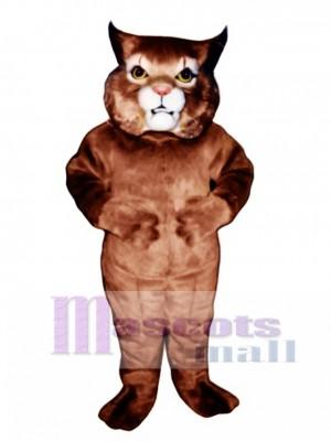 Nettes Mädchen Wildcat Maskottchen Kostüm Tier