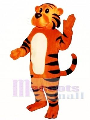 Nettes sonniges Tiger Maskottchen Kostüm