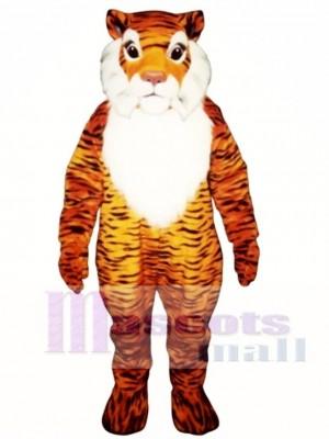Niedliches George Tiger Maskottchen Kostüm