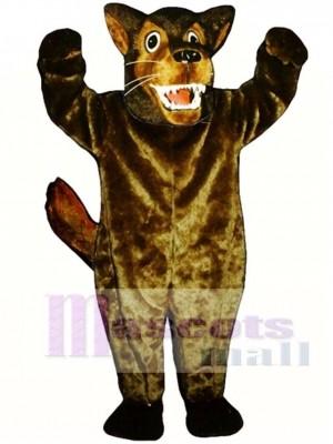 Nettes gemeines Wolf Maskottchen Kostüm