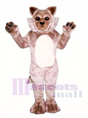 Nettes Timber wolf Maskottchen Kostüm
