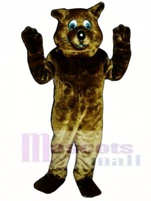 Fluss Otter Maskottchen Kostüm Tier