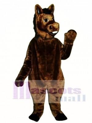 Braun Esel Maskottchen Kostüm Tier