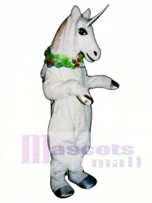 Einhorn mit Garland Maskottchen Kostüm