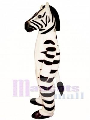 Zebra Maskottchen Kostüm