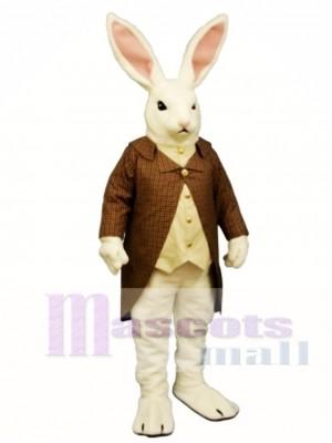 Ostern Herr Lapin mit Mantel & Weste Hase Kaninchen Maskottchen Kostüm