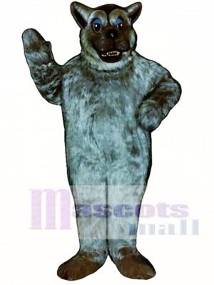 schlecht Wolf Maskottchen Kostüm
