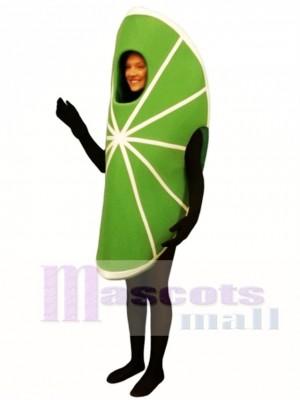 Lime Wedge Maskottchen Kostüm Obst